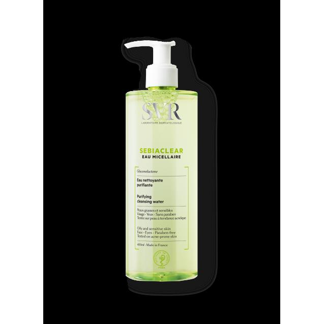 SVR SEBIACLEAR Micellar Water Oily & Blemish Prone Skin (400ml)